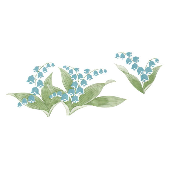 Lily of the Valley - 2 Colours (JPT-073)