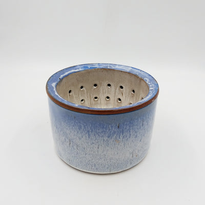 Made to Order, Cylindrical Berry Bowl with Rinse Bowl