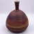 One of a Kind Gourd Jar, Iron Oxide Stained Exterior, Lichen over Quartz Interior