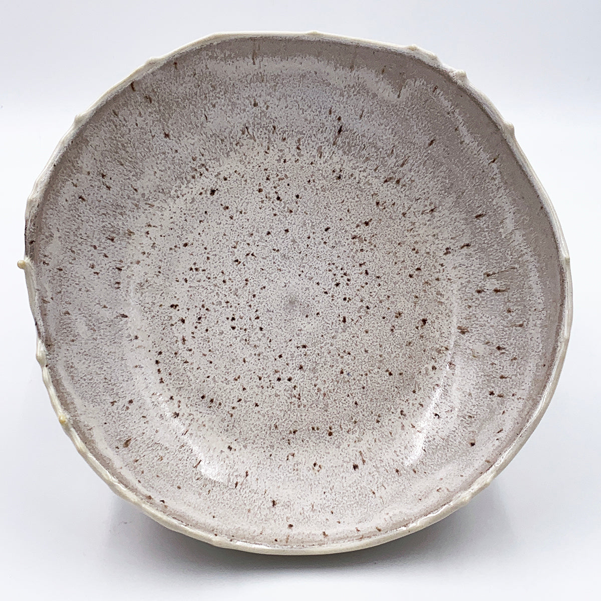 Medium Frosty Cut Rim Bowl