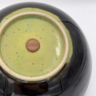 Large Sprout over Obsidian Bowl