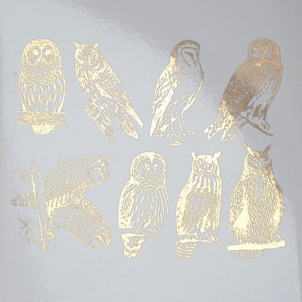 Owls Gold Lustre (Decal-072)