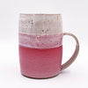 One of a kind, Large Mug or Beer Stein. Red & White