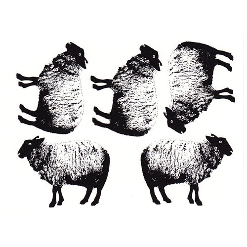 Sheeps Black (Decal-032)