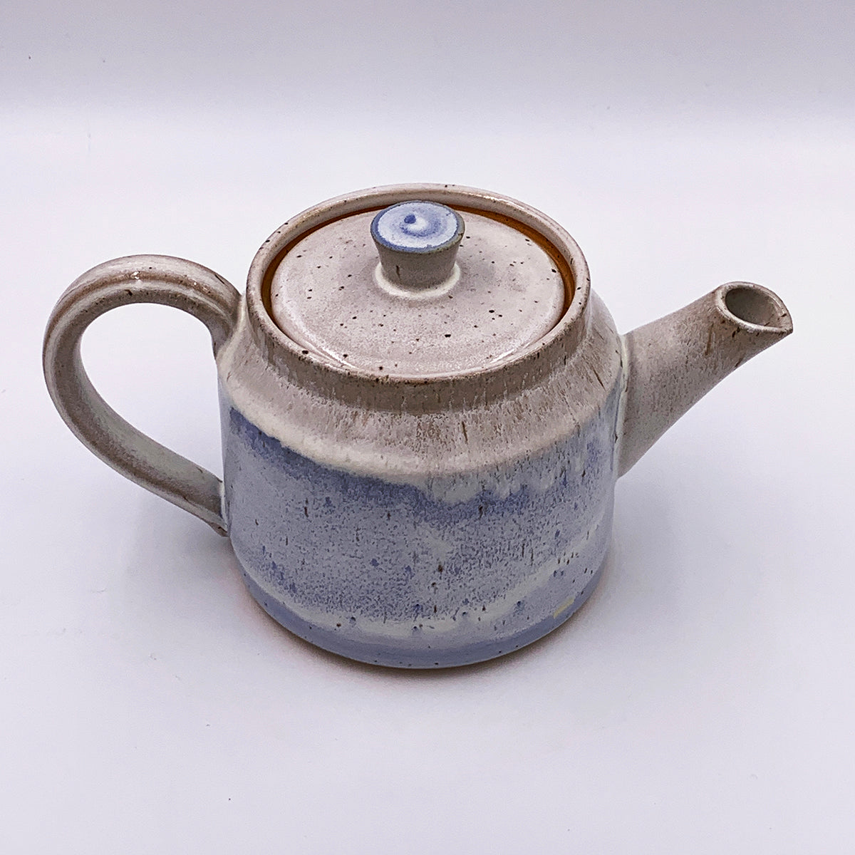 Made to Order, Cylindrical Frosty Teapots with Side Handle