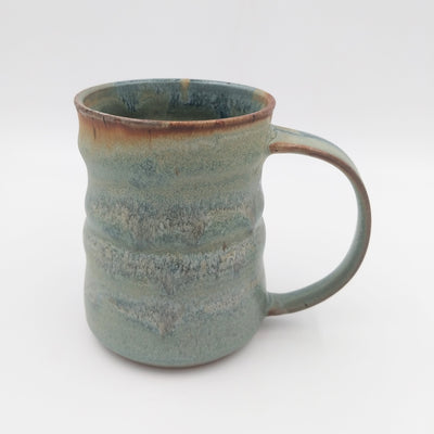 One of a kind, 16 oz Slate and Badlands mug