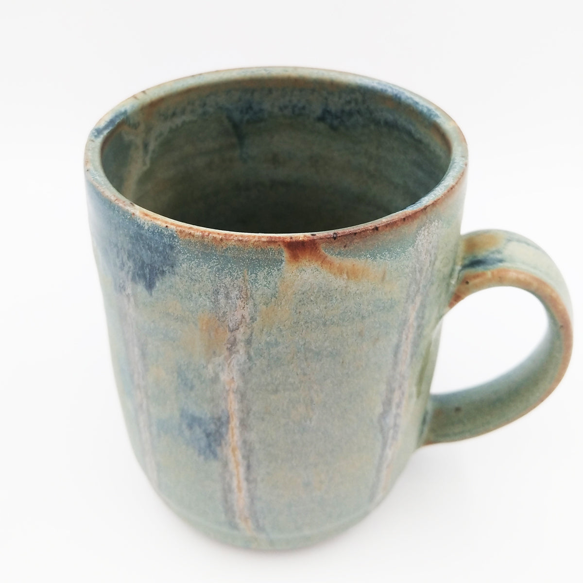 One of a kind, 18 oz Slate and Badlands mug