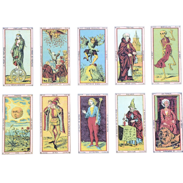 Antique French Tarot #1 (Decal-004)