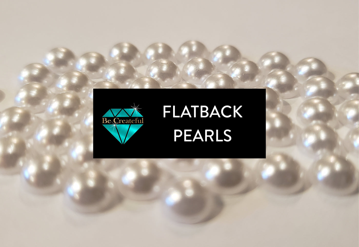 Be Createful Flatback Pearls