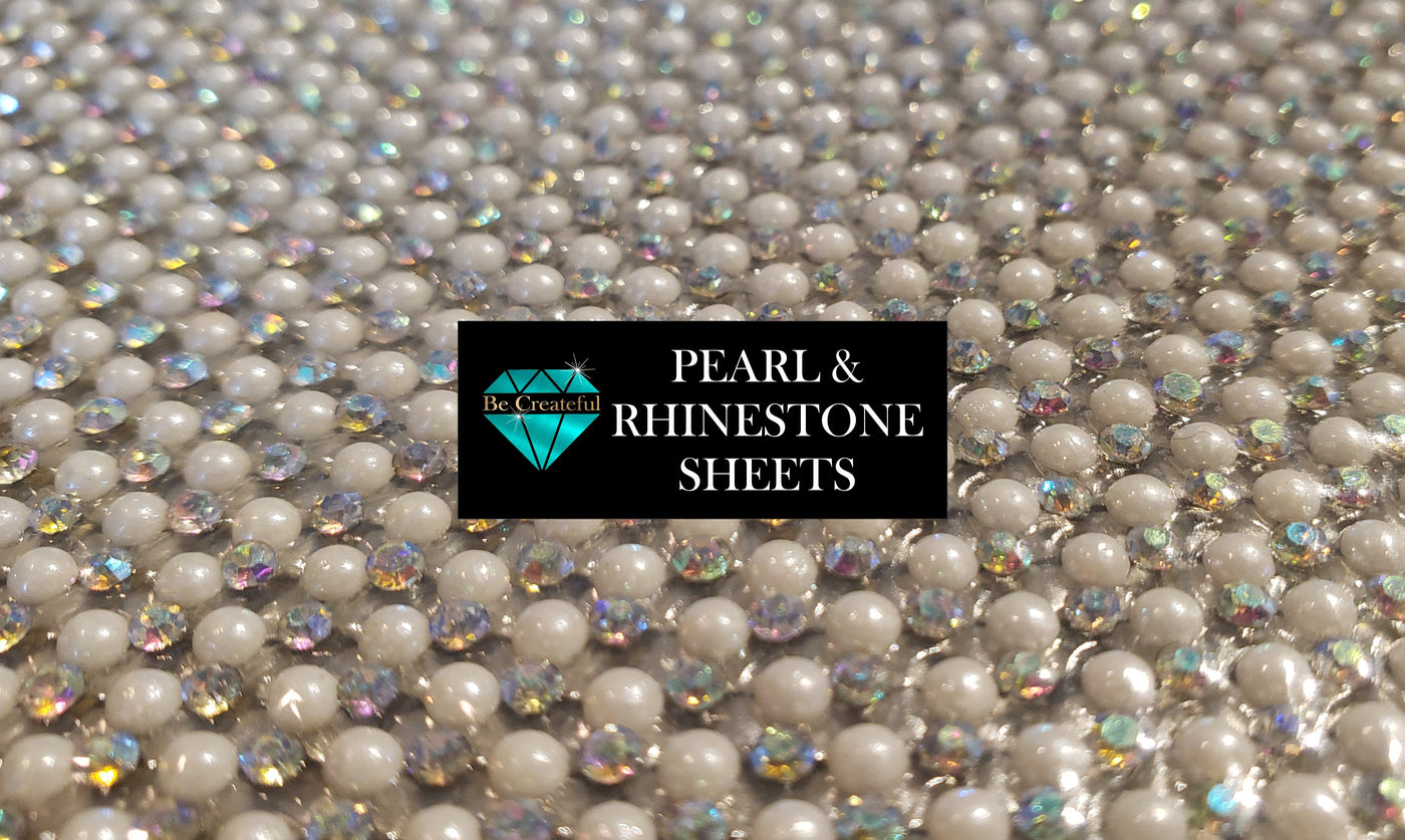 Be Createful Hotfix Pearl and Rhinestone Sheet