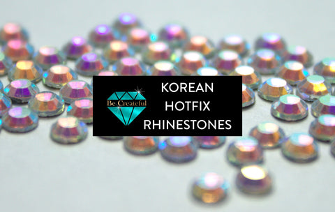 Be Createful Korean And Speciality Rhinestones Are Beautiful We Sell At Wholesale Prices.