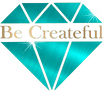 Be Createful Rhinestone Website Logo