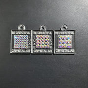 Customizable Crystal Swatch Charms