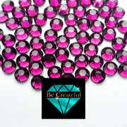 DMC Amethyst Purple Glass Hotfix Rhinestones - Be Createful, Beautiful Rhinestones at wholesale prices.