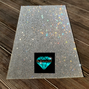 Adhesive Crystal Glass Rhinestone Sheet