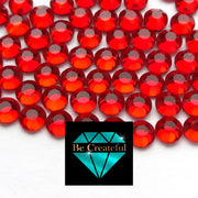 DMC Lt Siam Glass Hotfix Rhinestones - Be Createful, Beautiful Rhinestones at wholesale prices.