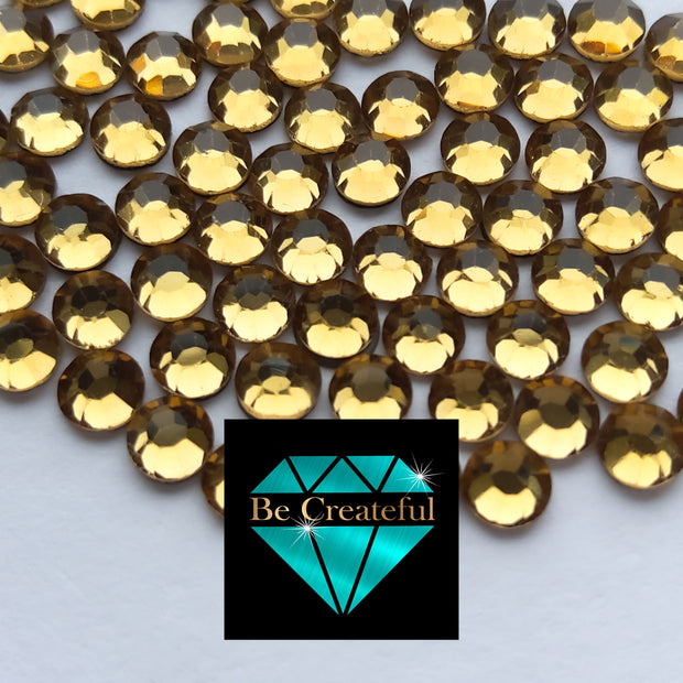 Korean Lt Topaz Hotfix Rhinestones - Be Createful, Beautiful Rhinestones at wholesale prices.