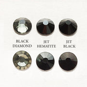 Be Createful Black Diamond, Jet Hematite, Jet Black