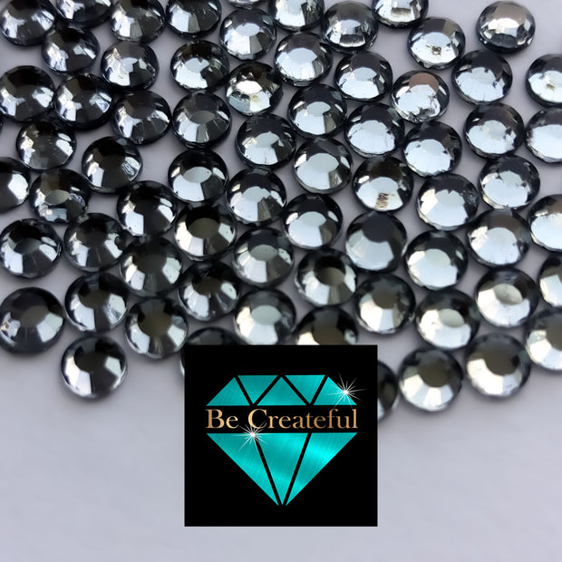 Korean Black Diamond Glass Hotfix Rhinestones - Be Createful, Beautiful Rhinestones at wholesale prices.