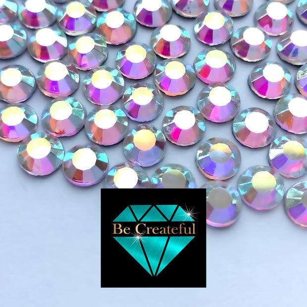 Korean Crystal AB Hotfix Rhinestones - Be Createful, Beautiful Rhinestones at wholesale prices.