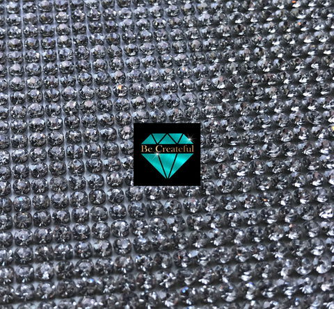 Hotfix Crystal Glass Rhinestone Sheets