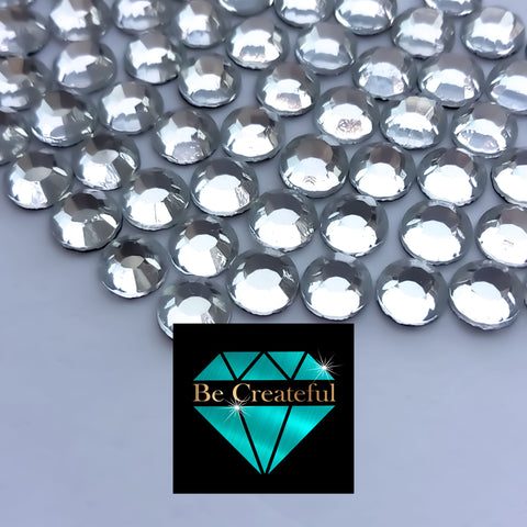 Crystal Korean Glass Hotfix Rhinestones - Korean Hotfix Rhinestones