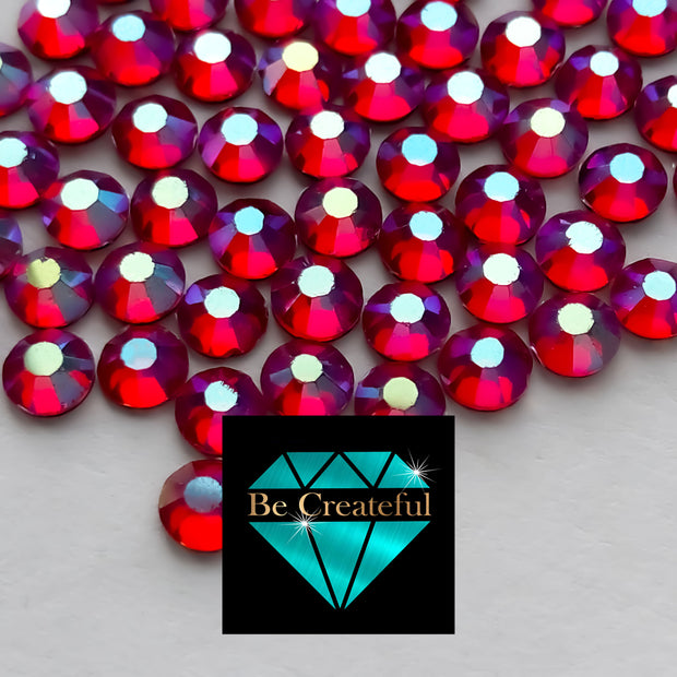 DMC Siam AB Glass Hotfix Rhinestones - Be Createful, Beautiful Rhinestones at wholesale prices.