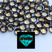 Korean Smoked Topaz Hotfix Rhinestones - Be Createful, Beautiful Rhinestones at wholesale prices.