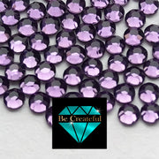 DMC Tanzanite Glass Hotfix Rhinestones - Be Createful, Beautiful Rhinestones at wholesale prices.