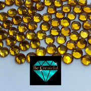 Korean Topaz Hotfix Rhinestones - Be Createful, Beautiful Rhinestones at wholesale prices.
