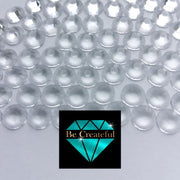 BULK Flatback Transparent  Glass Rhinestones