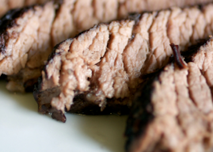Beer Braised Bison Brisket