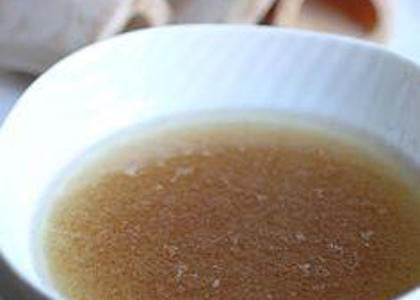 Long-Simmered Roasted Bison Bone Broth