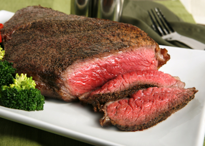 Grilled Bison London Broil