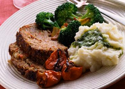 Bison Meatloaf
