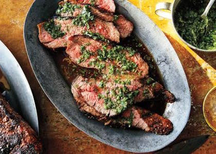 Bison Tri-Tip with Chimichurri
