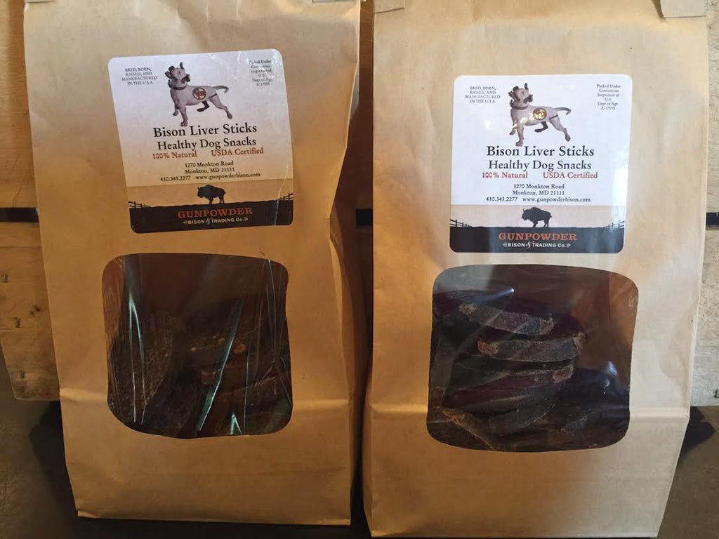 Bison Liver Dog Treats