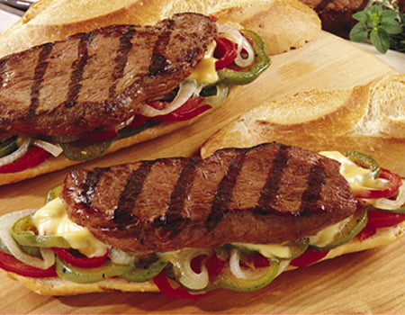 Bison Ribeye Sandwich Steak