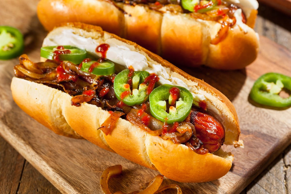Bison Hot Dogs - Jalapeno Cheddar