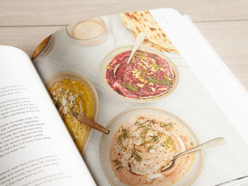 Beetroot dip recipe from The Modern Cooks Year