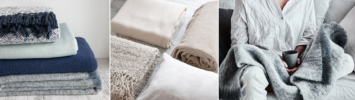 throws for lounge and bed