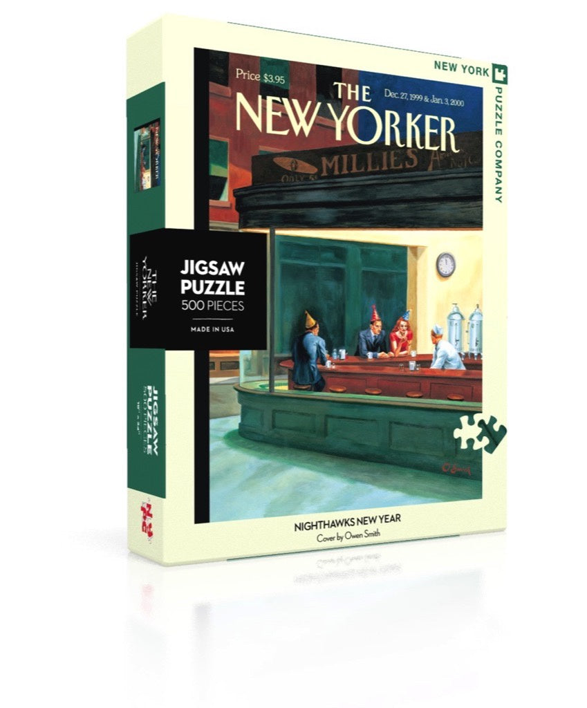 Nighthawks New Year 500pc Puzzle