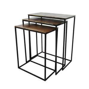 Scott Rect. Nesting Side Tables Set 3