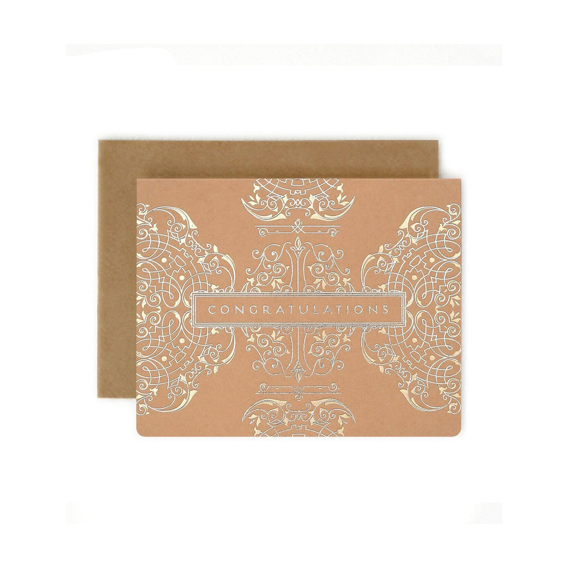 Art Deco Congratulations Card