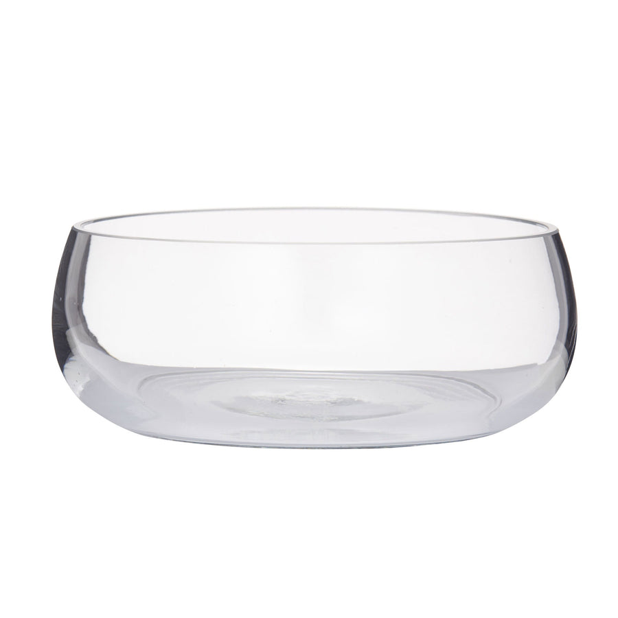 Rounded Glass Bowl