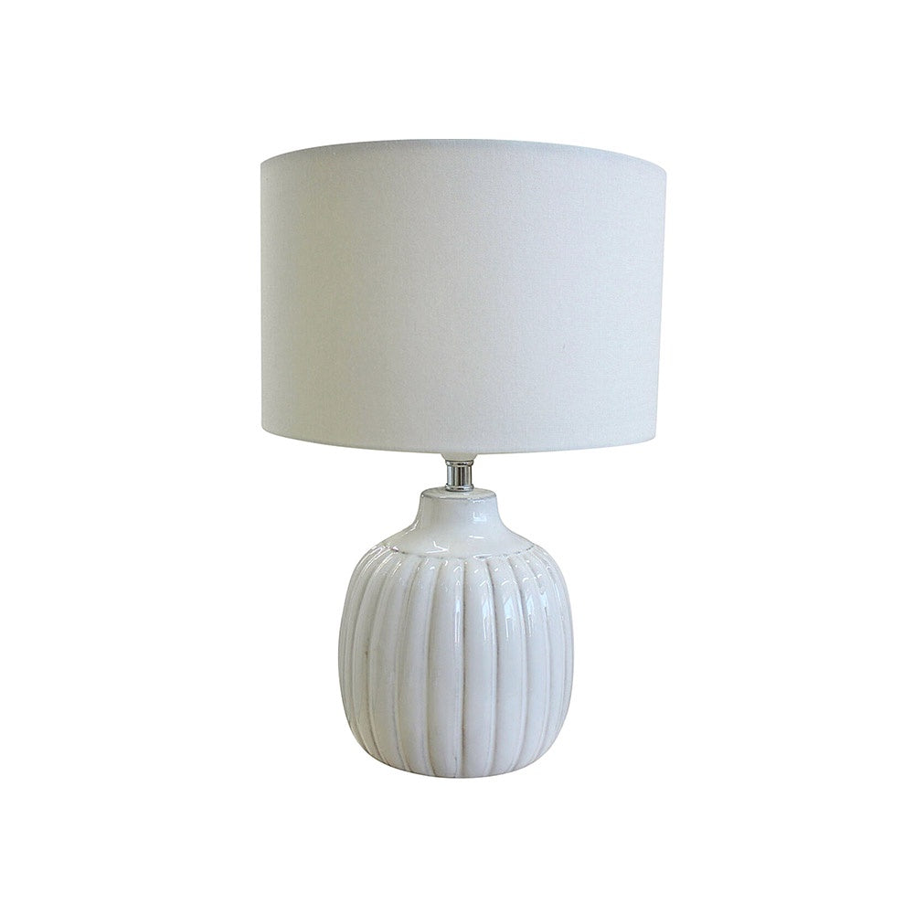 Hawley White Lamp