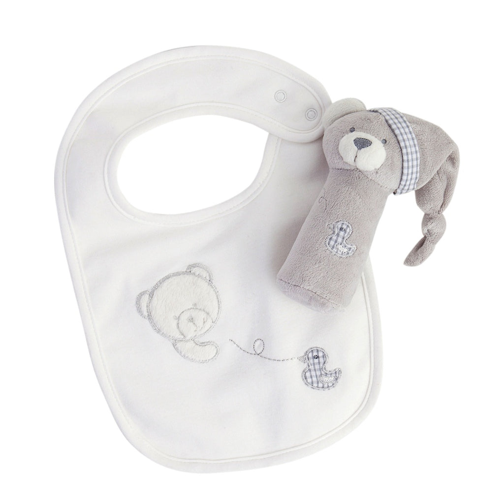 Baby Bib & Toy Set