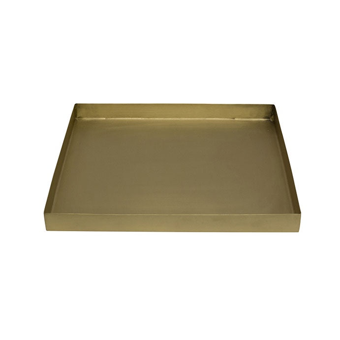 Boston Square Brass Tray