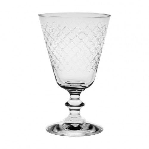 France Wine Glass Fishnet