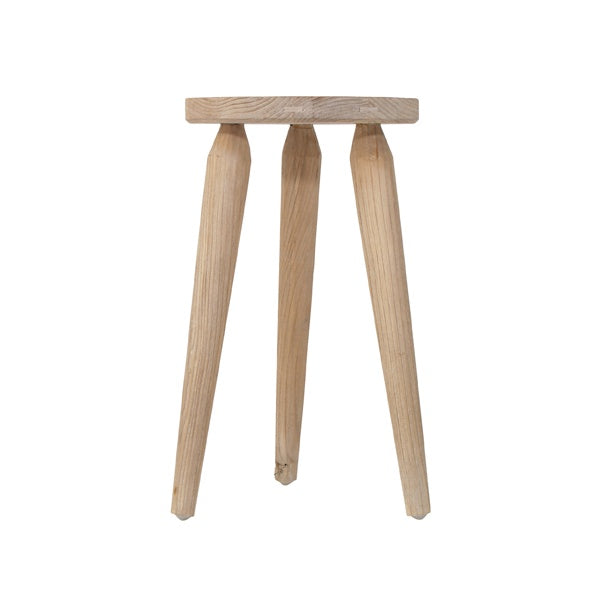 Stool Rustic Wood